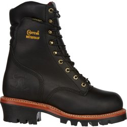 Men's Oiled Logger EH Steel Toe Lace Up Work Boots