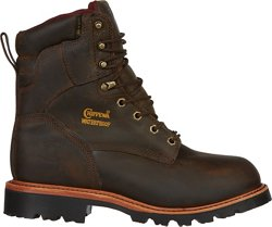 Men's Bay Apache Utility Steel Toe Rugged Outdoor Boots