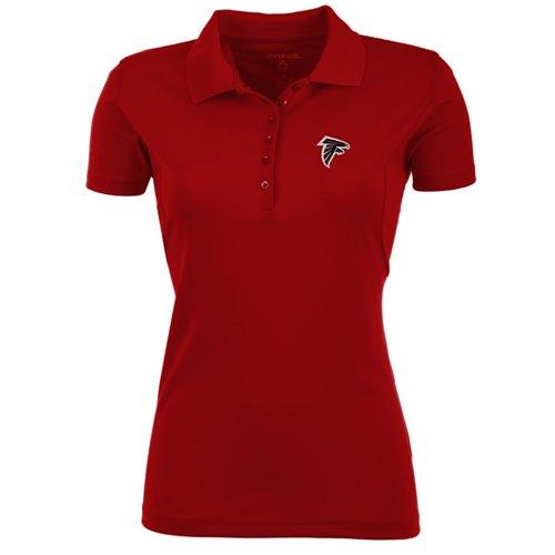Antigua Women's Atlanta Falcons Pique Xtra-Lite Polo Shirt
