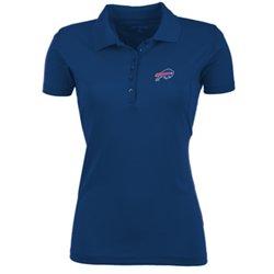 Antigua Women's Buffalo Bills Pique Xtra-Lite Polo Shirt