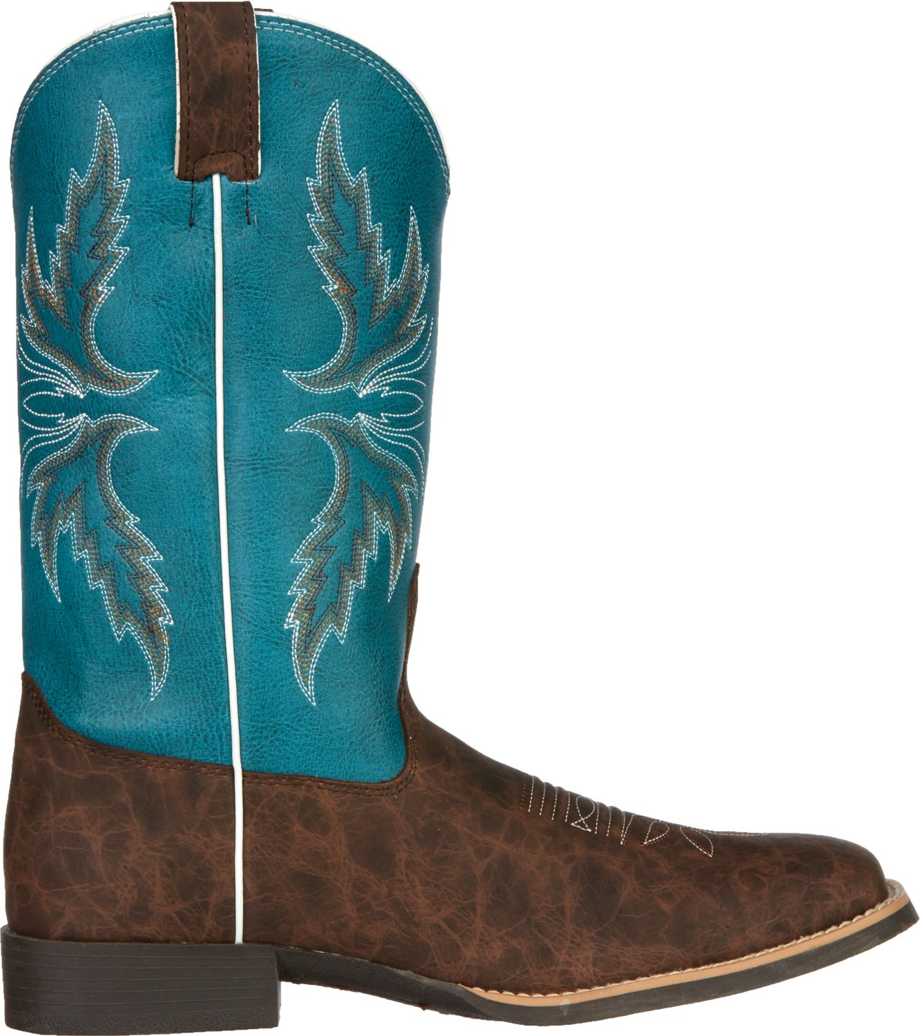 Justin Kids' Cowhide Bent Rail Western Boots - view number 3