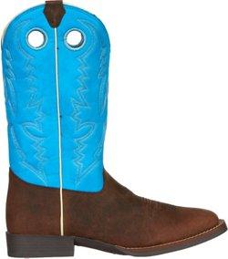 Justin Kids' Buffalo Bent Rail Western Boots