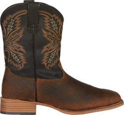 Justin Kids' Coyote Bent Rail Western Boots