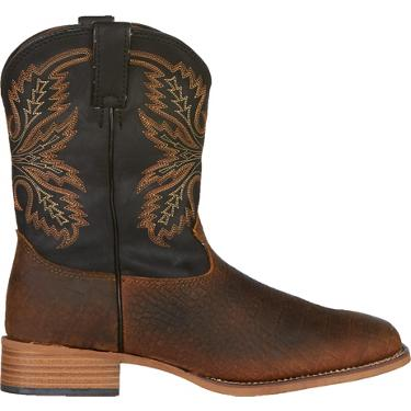 bf6af7919a0e7 ... Justin Kids' Coyote Bent Rail Western Boots. Boys' Western Boots.  Hover/Click to enlarge