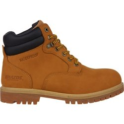 Men's Waterproof Nubuck Work Boots