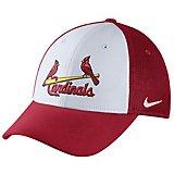 pick up 0b7a7 4e74d Nike™ Adults  St. Louis Cardinals Vapor Dri-FIT Mesh Back Swoosh Flex