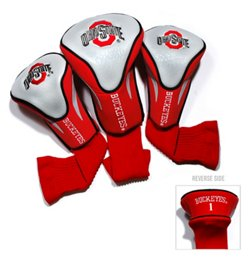 Team Golf Ohio State University Contour Sock Head Covers 3-Pack