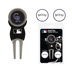 Colorado Rockies Divot Tool and Ball Marker Set