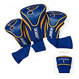 Team Golf St. Louis Blues Contour Sock Head Covers 3-Pack