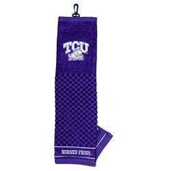Texas Christian University Embroidered Towel
