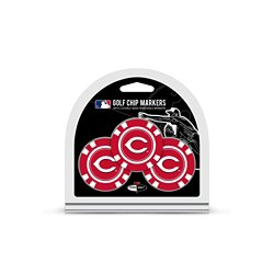 Cincinnati Reds Poker Chip and Golf Ball Marker Set