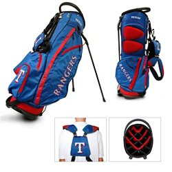Texas Rangers Fairway 14-Way Stand Golf Bag
