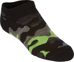 Boys' Camo No-Show Socks 6 Pack