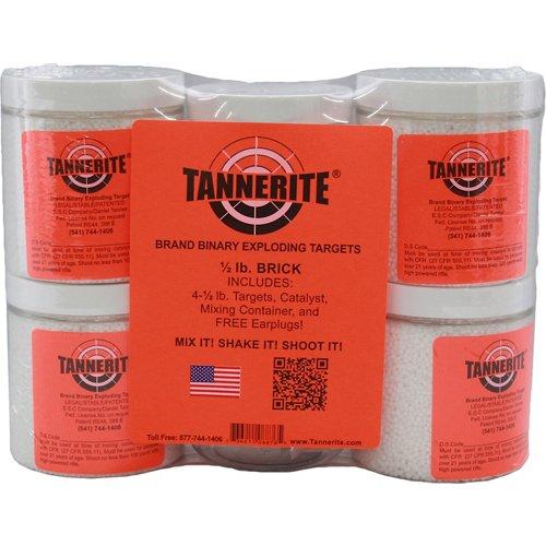 Tannerite® 1/2 lb. Brick Binary Targets 4-Pack