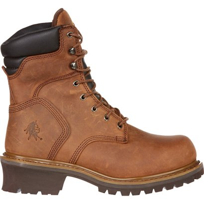 Chippewa Boots Oblique Steel Toe Logger Rugged Outdoor