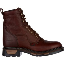 Men's Briar Pitstops TLX EH Steel Toe Western Lace Up Work Boots