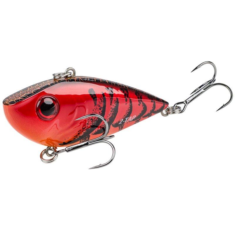 Strike King Red Eyed Shad Tungsten 2 Tap 1/2 oz Lipless Crankbait Delta Red – Fresh Water Hard Baits at Academy Sports