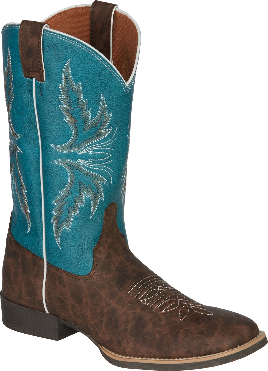 Justin Kids' Cowhide Bent Rail Western Boots - view number 2