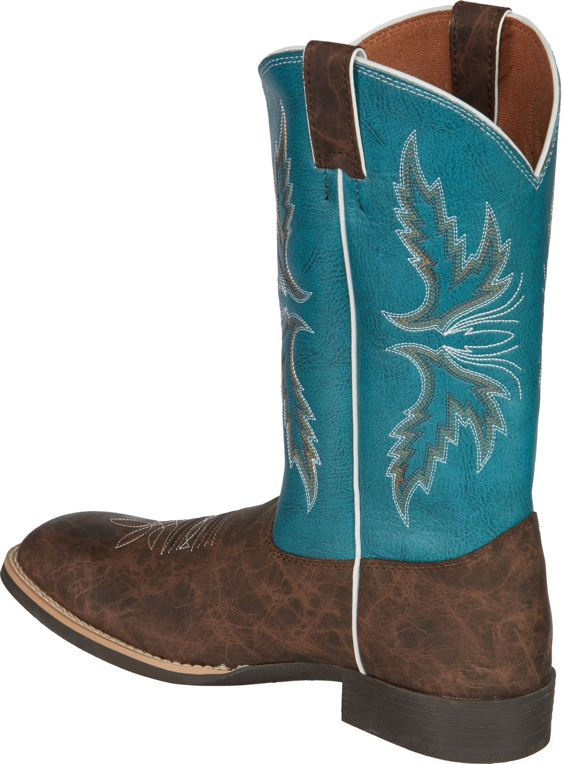 Justin Kids' Cowhide Bent Rail Western Boots - view number 1