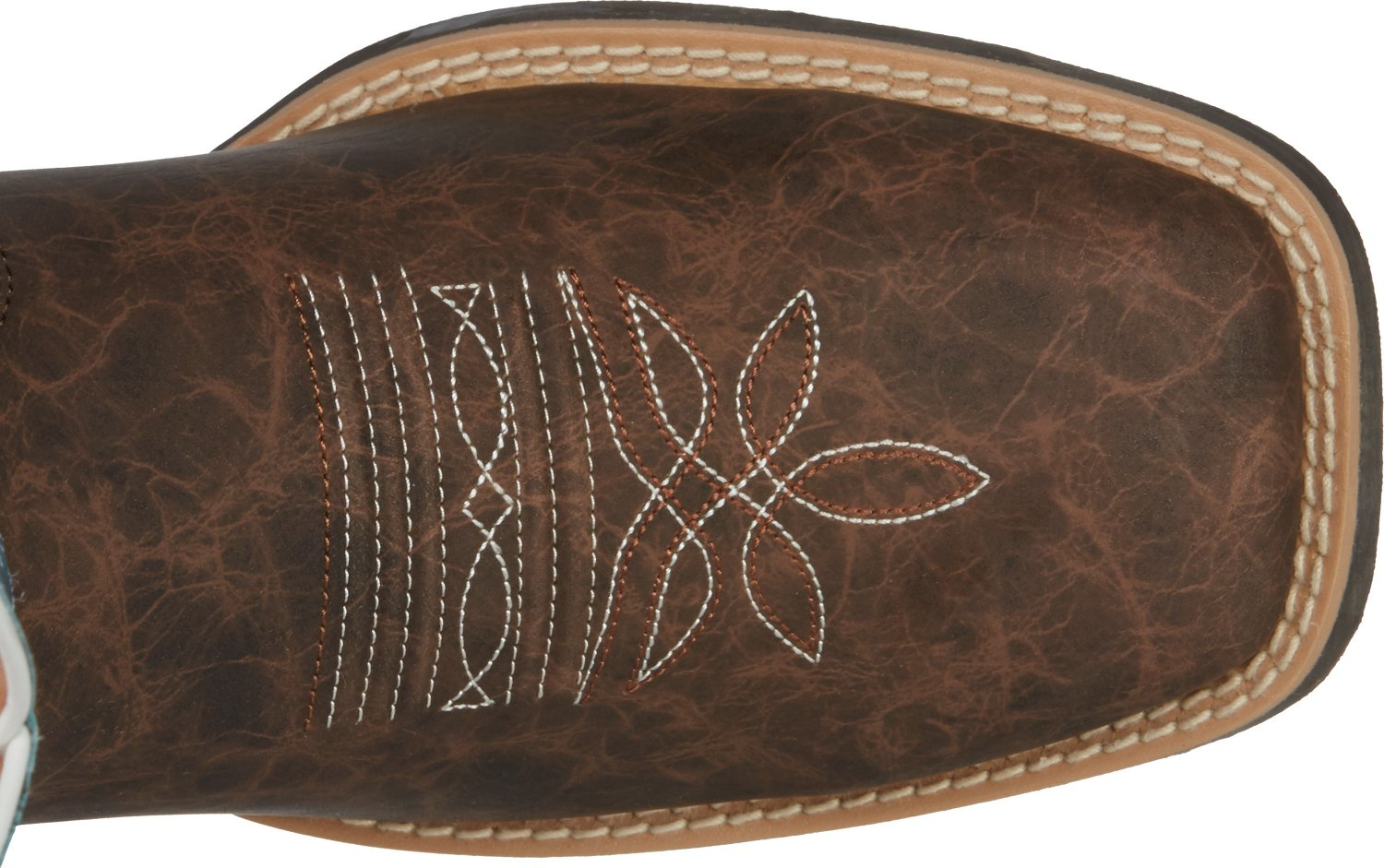 Justin Kids' Cowhide Bent Rail Western Boots - view number 5