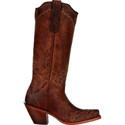 Women's Saigets Worn Goat Label Western Boots