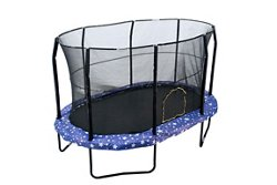 9' x 14' Oval Trampoline with Enclosure