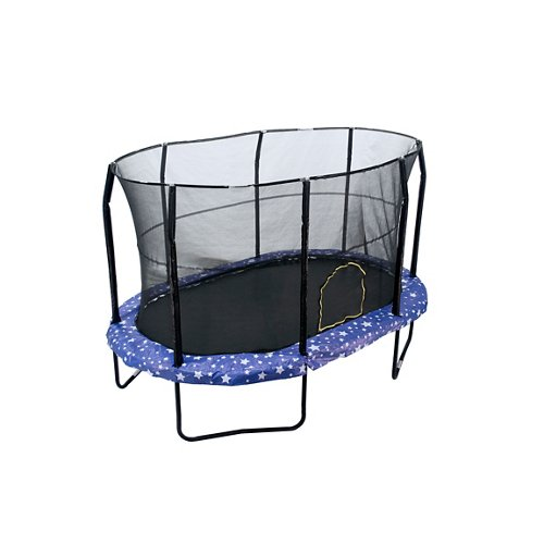 Jumpking 9' x 14' Oval Trampoline with Enclosure