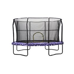 8' x 12' Oval Trampoline with Enclosure