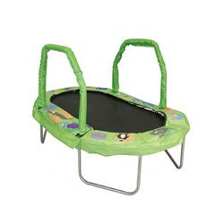 "38"" x 66"" Mini Oval Trampoline with Pad"