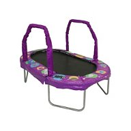 "Jumpking 38"" x 66"" Mini Oval Trampoline with Pad"