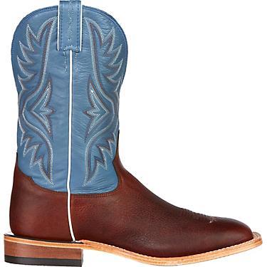 f5d3926e0fb Tony Lama Men's Pecan Bison Americana Western Boots
