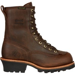 Men's Bay Apache Logger Lace Up Work Boots