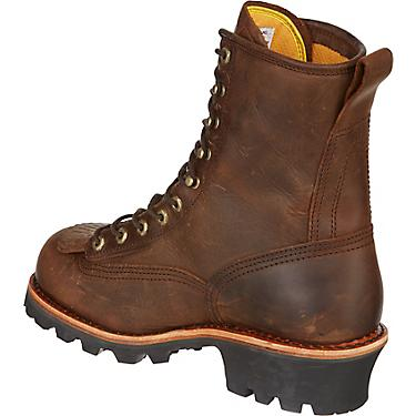e942ca84756 Chippewa Boots Men's Bay Apache Logger Lace Up Work Boots