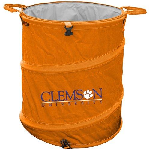 Logo™ Clemson University Collapsible 3-in-1 Cooler/Hamper/Wastebasket
