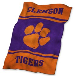 Logo™ Clemson University Ultrasoft Blanket