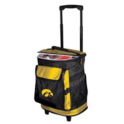 Logo™ University of Iowa 48-Can Rolling Cooler