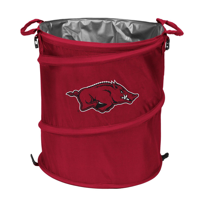 Display product reviews for Logo™ University of Arkansas Collapsible 3-in-1 Cooler/Hamper/Wastebasket