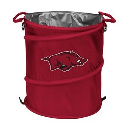 Logo™ University of Arkansas Collapsible 3-in-1 Cooler/Hamper/Wastebasket