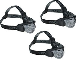 Dorcy LED Headlamps 3-pack