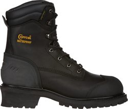 Oiled Insulated EH Steel Toe Lace Up Work Boots