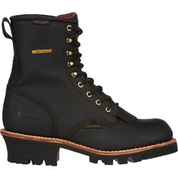 Men's Insulated Logger Lace Up Work Boots