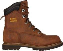 Men's Heavy Duty Tough Bark Utility Rugged Outdoor Boots