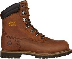 Men's Heavy Duty Tough Bark Utility Steel-Toe Rugged Outdoor Boots