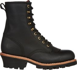 Men's Steel- Toe Logger Rugged Outdoor Boots