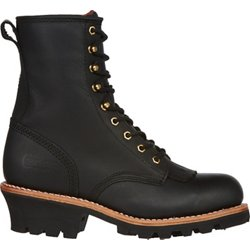 Men's EH Steel Toe Lace Up Work Boots