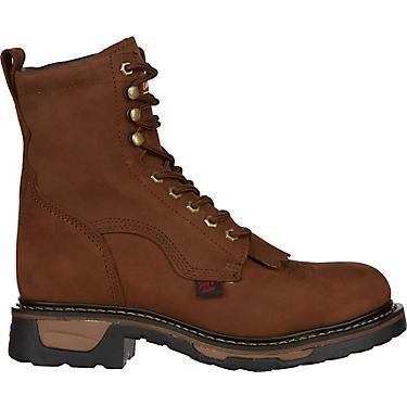 68190753445 Tony Lama Men's Cheyenne TLX EH Steel Toe Western Wellington Work Boots