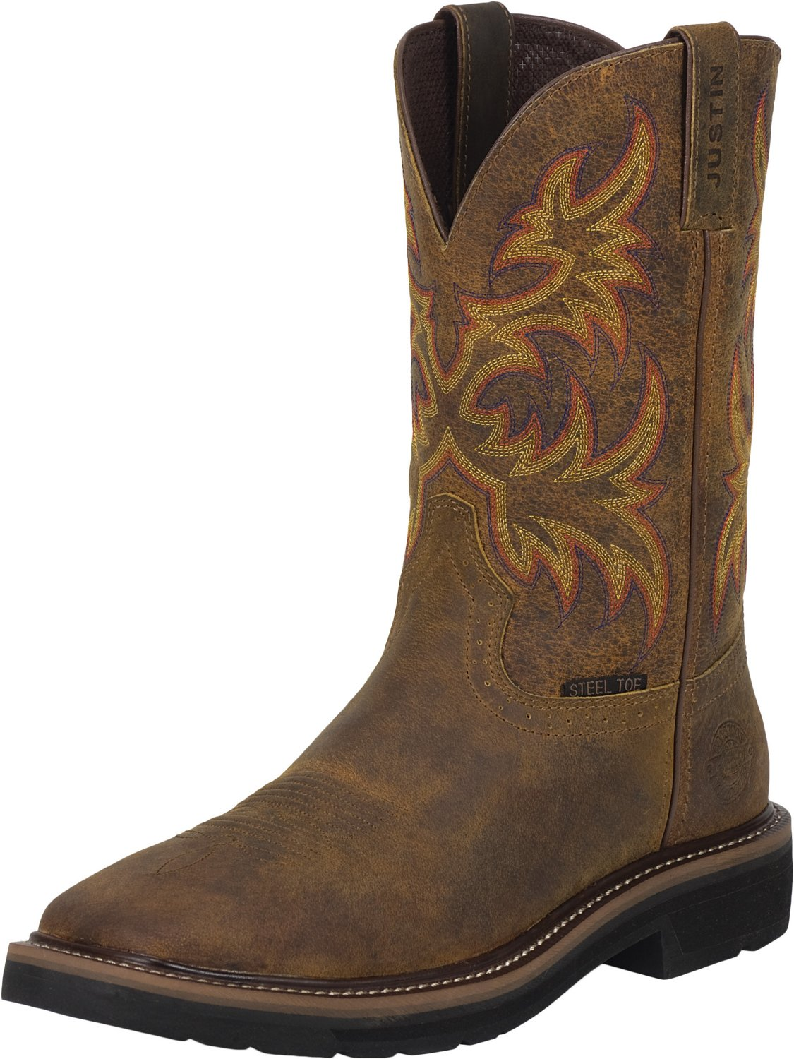 b385d41bc7b Display product reviews for Justin Women s Stampede Rugged Cowhide EH Steel  Wellington Work Boots