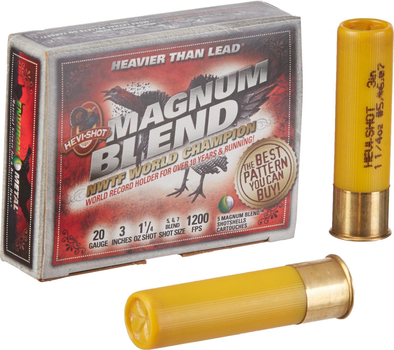 HEVI-Shot® Magnum Blend™ 20 Gauge Shotgun Shells
