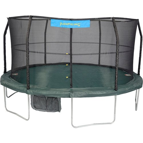 Jumpking 15' Round Trampoline with Enclosure