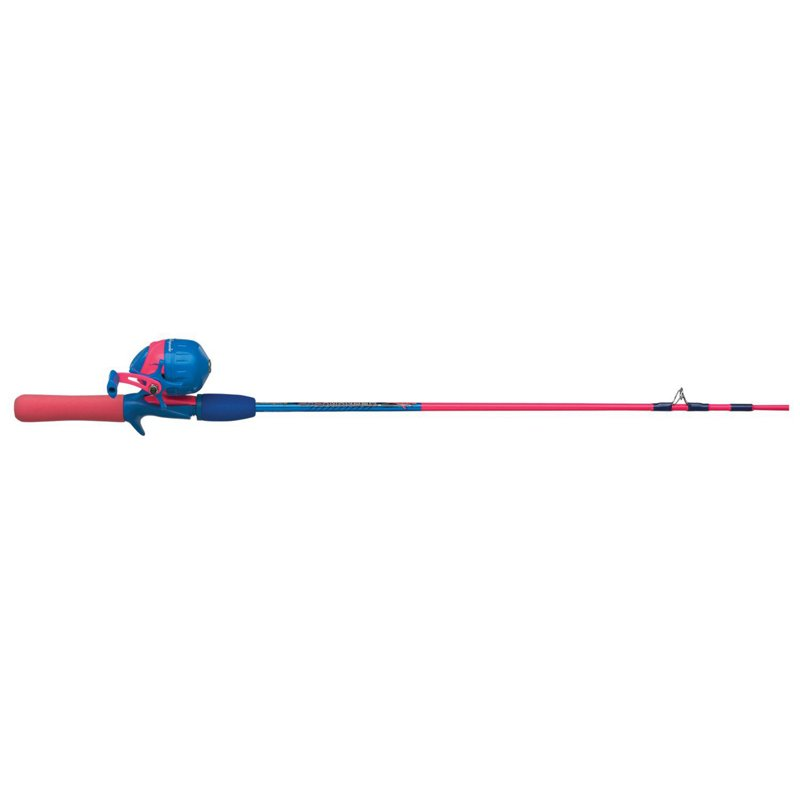 """Shakespeare Amphibian 4'6"""" L Spincast Rod and Reel Combo Pink – Fishing Combos, Spincast Combos at Academy Sports"""